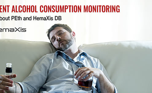 Alcohol consumption monitoring with HemaXis