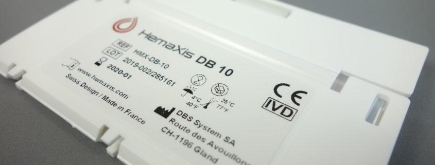 CE marking HemaXis DB 10